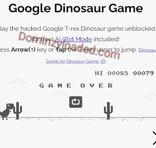 Google dinosaur game 🦕