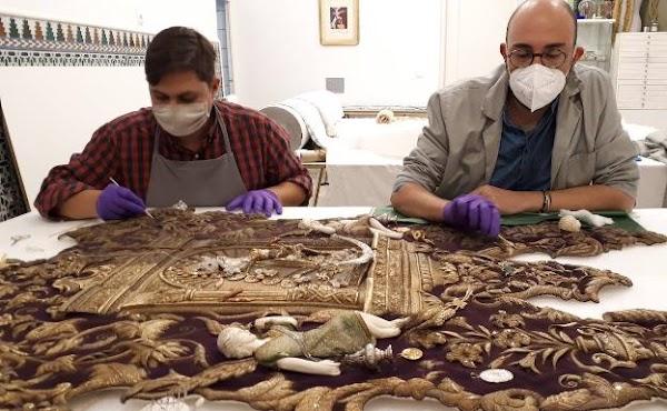 La Hermandad del Rocío de Málaga restaura su simpecado en Antequera