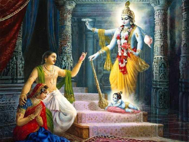 Lord Krishna's birth