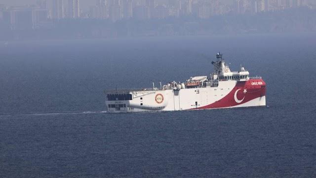 Χωρίς τέλος οι τουρκικές προκλήσεις – Επεκτείνεται έως 27 Οκτωβρίου η Navtex για το Oruc Reis