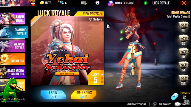 diamond royale yokai soulseeker