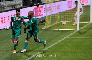 فيديو - الجزائر تتعادل مع المكسيك في شوط ثاني مثير