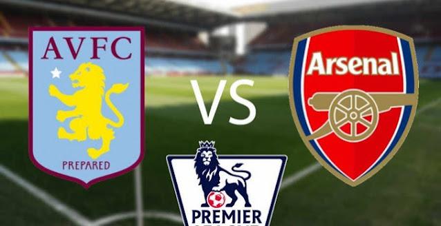موعد مباراة آرسنال وأستون فيلا بث مباشر بتاريخ 08-11-2020 الدوري الانجليزي