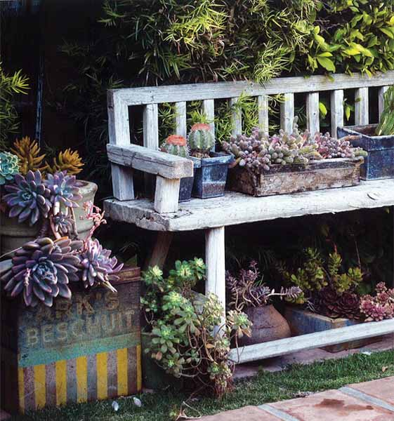 Junk Garden Ideas 2018 Edition: How To Recycle: Garden Decorations Of Recycled Old Chairs
