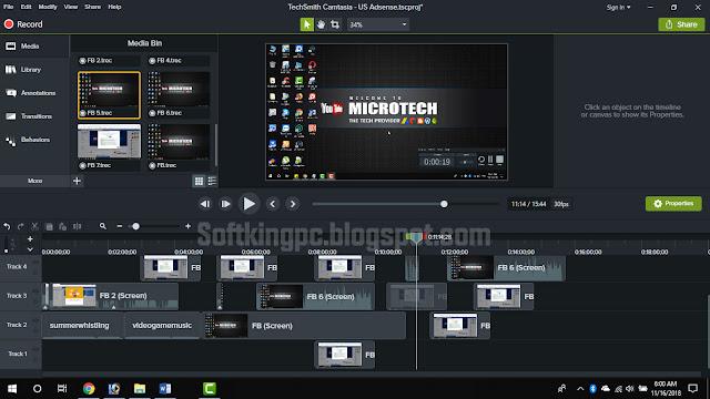 Camtasia 2020 Full Latest Version 32-Bit & 64-Bit Free Download