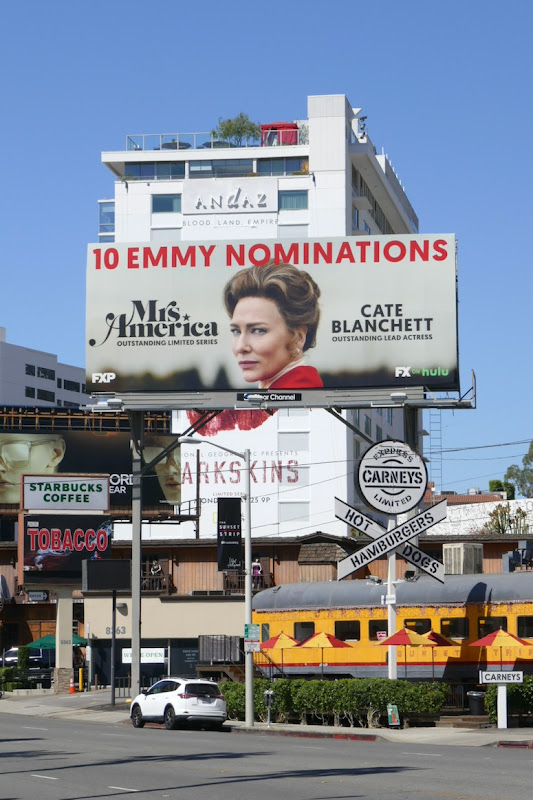 Mrs America 10 Emmy nominations bilboard