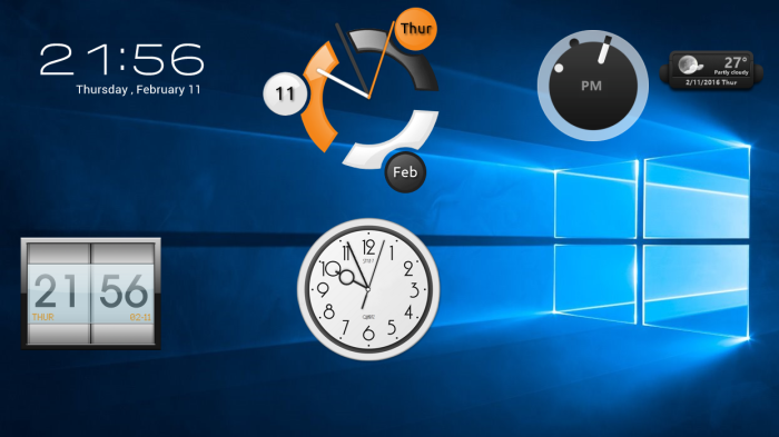 Forex widget windows 10
