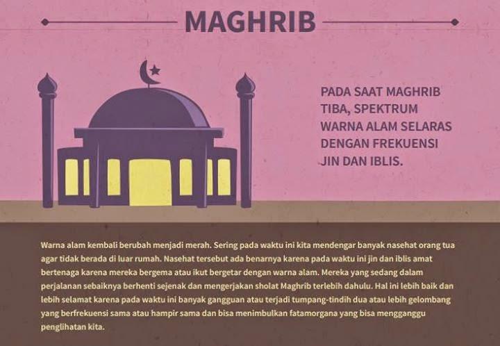 Rahasia shalat di awal waktu Maghrib