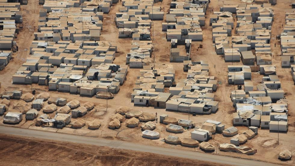 26. Zaatari Refuge Camp, Jordan - 50 Stunning Aerials That Will Make You See the World in New Ways (PHOTOS)