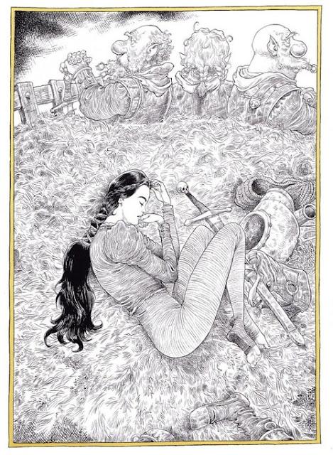 La belle et le fuseau de Neil Gaiman planche 2
