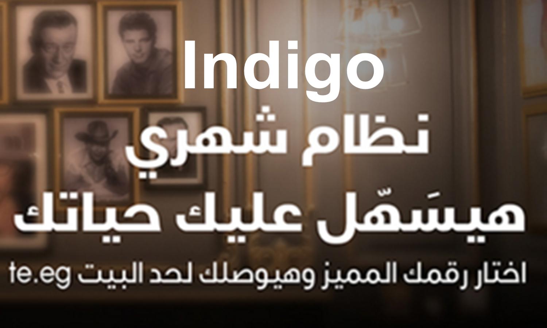نظام الفاتورة الشهرية Indigo من We المصرية للاتصالات 2021