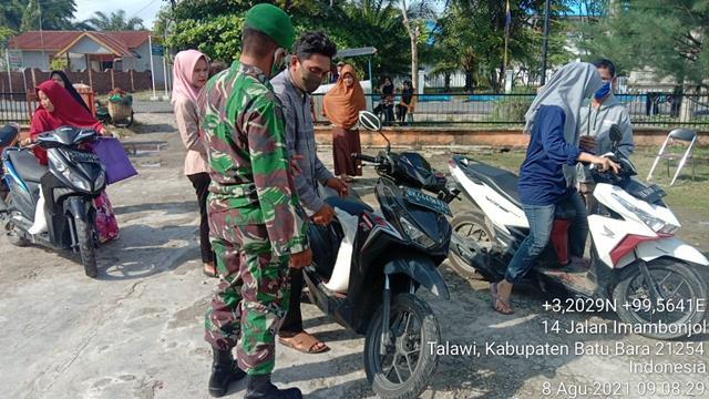 Himbau Tetap Kekompakan, Personel Jajaran Kodim 0208/Asahan Laksanakan Komsos Bersama Warga Binaan