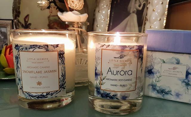 Little secrets Greek soy candles