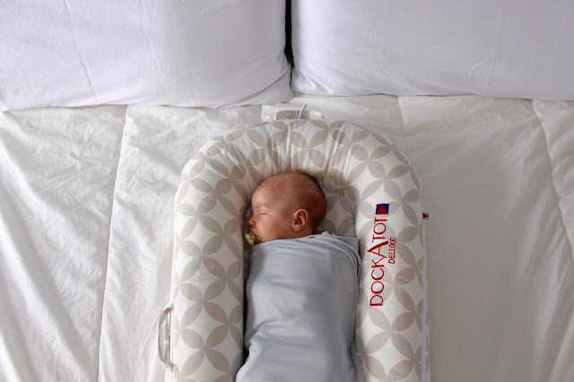 Improve your infants sleep with the DockATot and Ollie Swaddle