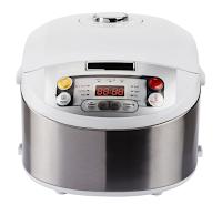 Multicooker Philips HD3037 70  980 W  5 l  Programe automate  Timer  Alb Argintiu   eMAG ro