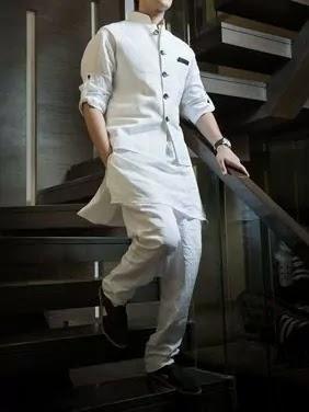 Kurta-pajama with nehru jacket