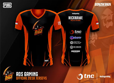 GAMING JERSEY ADS
