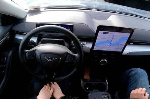 Ford is targeting Tesla with the BlueCruise system