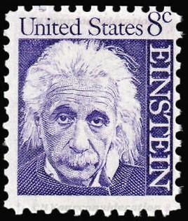 1966  ¢.08 Albert Einstein