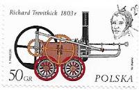 Selo Locomotiva de Richard Trevithick