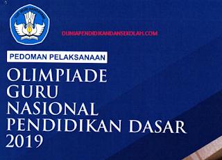 LOMBA GURU TAHUN 2019 OGN SD DAN SMP (DIKDAS)
