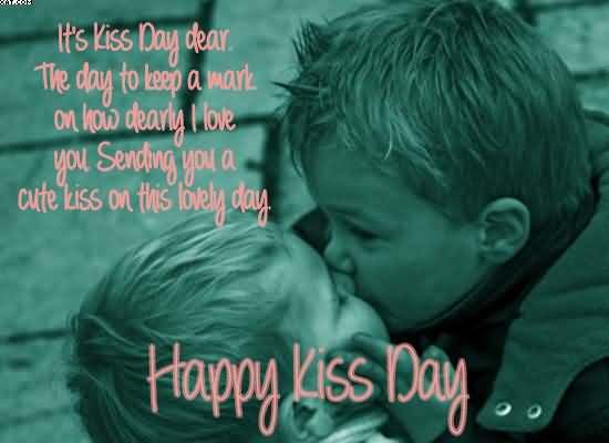 kiss day my love