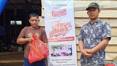 BMH Tempuh Medan Sulit 2 Hari 2 Malam untuk Distribusikan Sembako Bingkisan Lebaran
