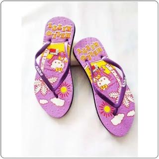 Sandal Jepit AB Hellokity Simplek