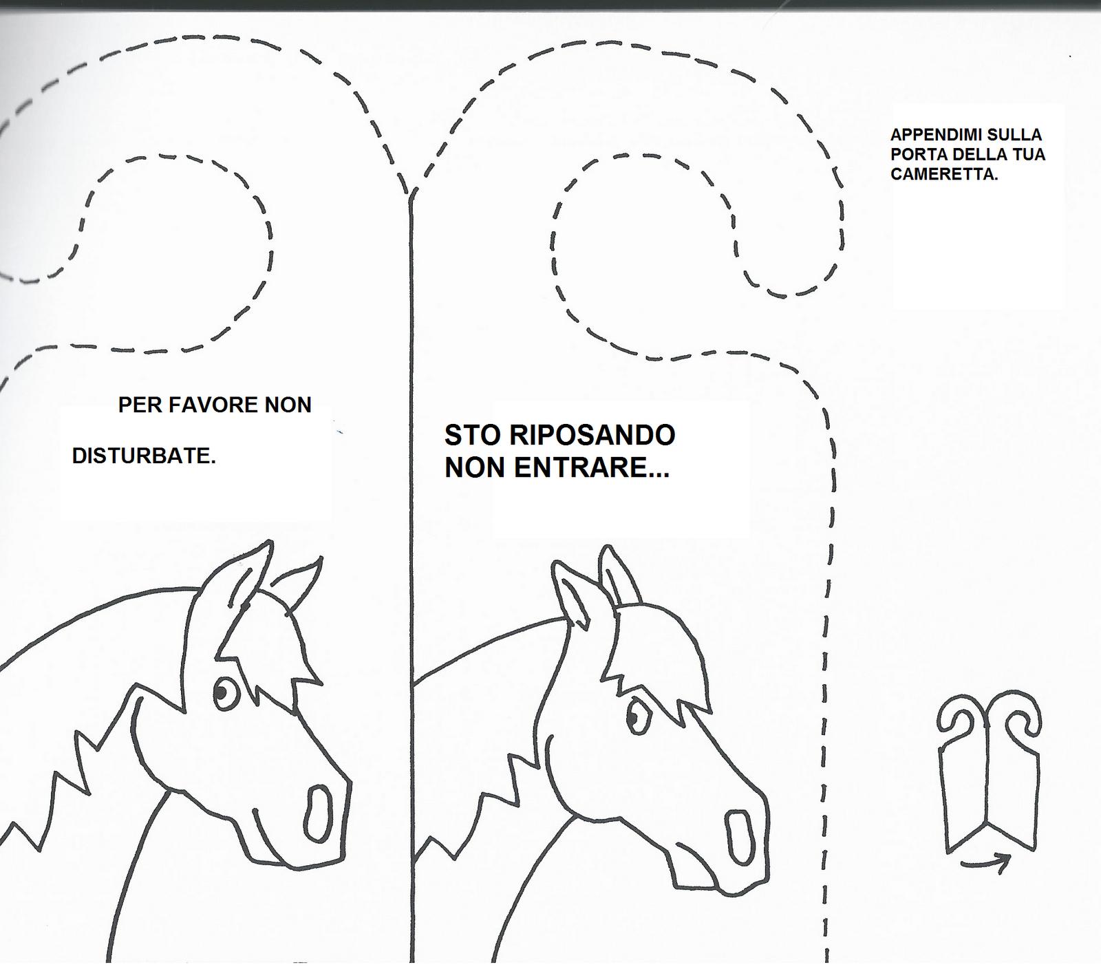 Disegni da colorare cavalli e pony da colorare con giochi for Disegni di cavalli da stampare