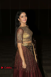 Actress Anchor Sri Mukhi Pictures at Araku Road Lo Audio Launch  0114