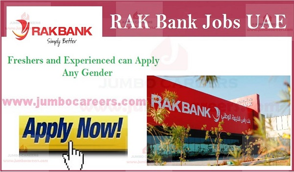 Available bank jobs in UAE, Job vacancies in Gulf countries,
