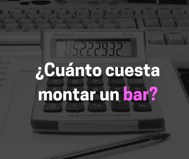 Montar un bar y sobrevivir cu nto cuesta montar un bar - Presupuesto para montar un bar ...