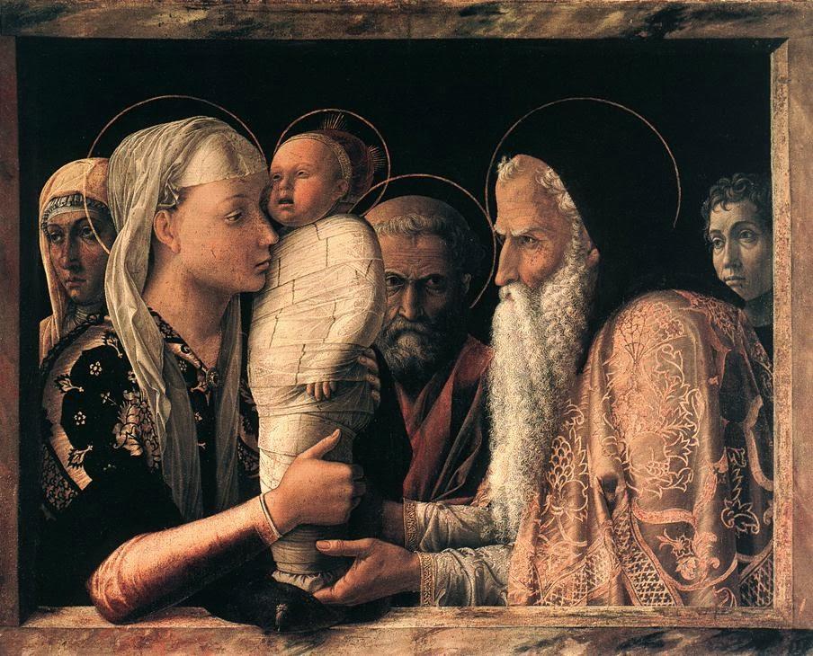Presentación de Jesús, Mantegna