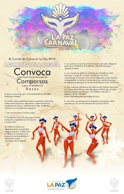comparsas carnaval la paz 2016