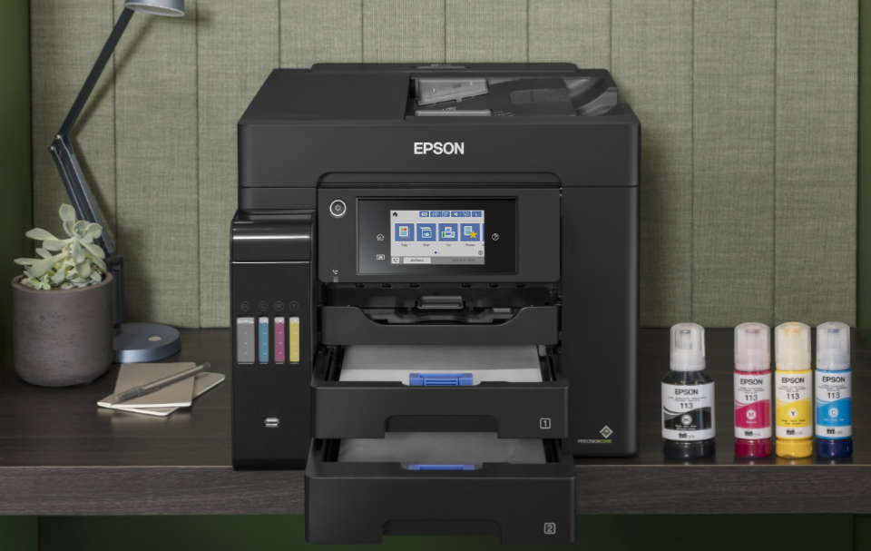 Imprimante Epson EcoTank Pro ET-5850