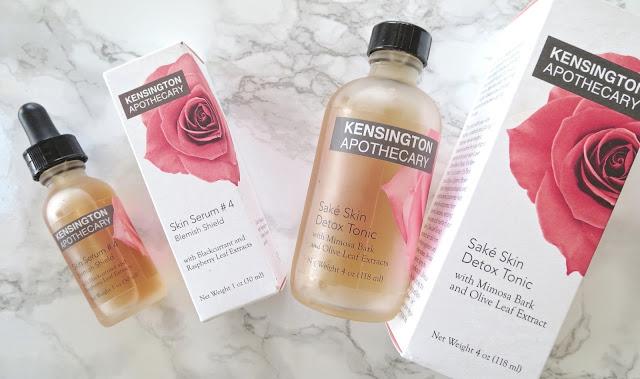 a picture of Kensington Apothecary Sake Detox Tonic and Skin Serum #4 Blemish Shield