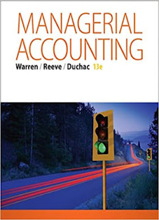 Managerial Accounting 13th Edition