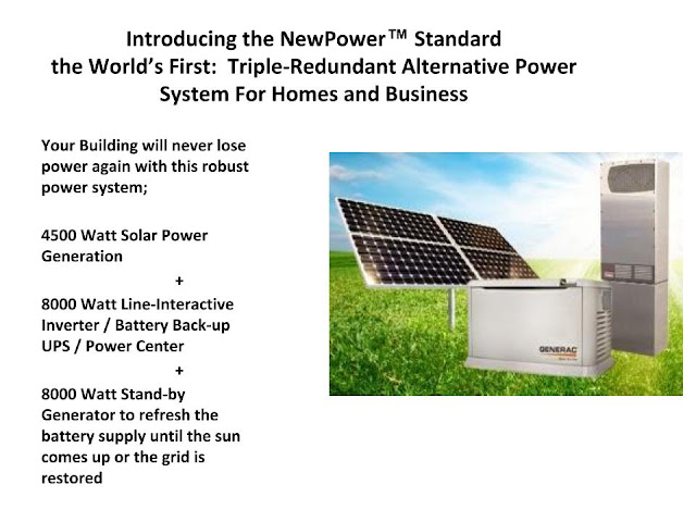 Alternative Backup Power System  http://bit.ly/SolarGenBackup
