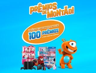 Prêmios de Montão PBKids [Promoção] Mais de 100 Prêmios