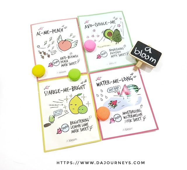 [Review] A'BLOOM Refreshing Skin Mask Pack