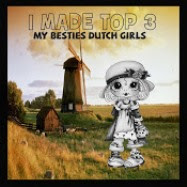 "TOP 3 My Besties Dutchgirls Desings op 10-09 2018 (#Aug) ""Hello there"""