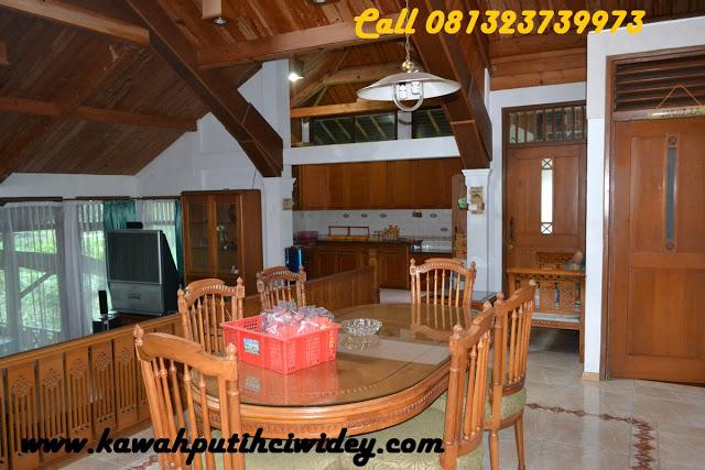 Booking villa di area wisata kawah putih dari cianjur