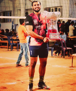 Anup Dcosta volleyball player