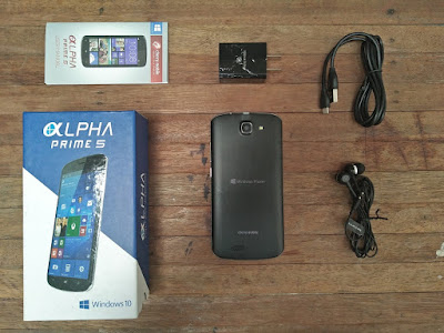 Cherry Mobile Alpha Prime 5 Retail Package