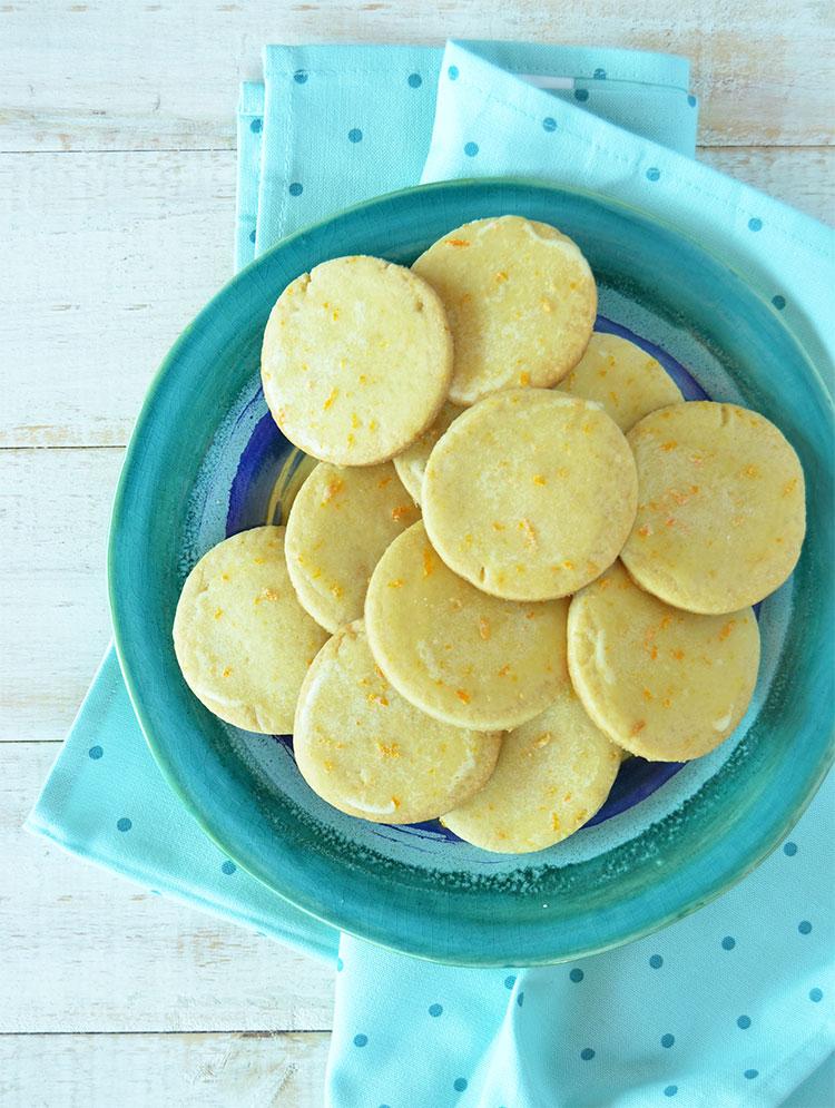 Galletitas de naranja y miel