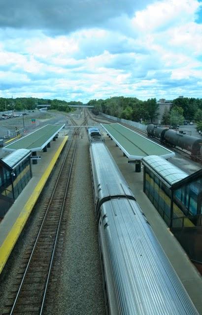 30 Squares Of Ontario: Amtrak To New York City