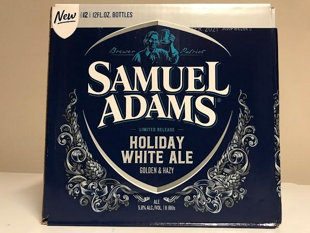 Beer Of The Week - Samuel Adams Holiday White Ale