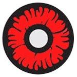 red lenses for demon slayor
