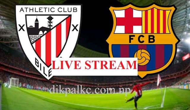 Athletic Bilbao vs Barcelona Live Stream, Line up, TV ...