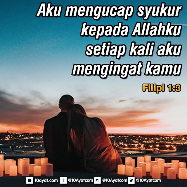 Filipi 1:3